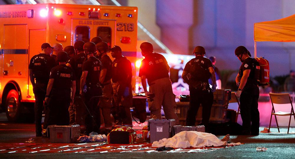 ラスベガスの銃乱射事件