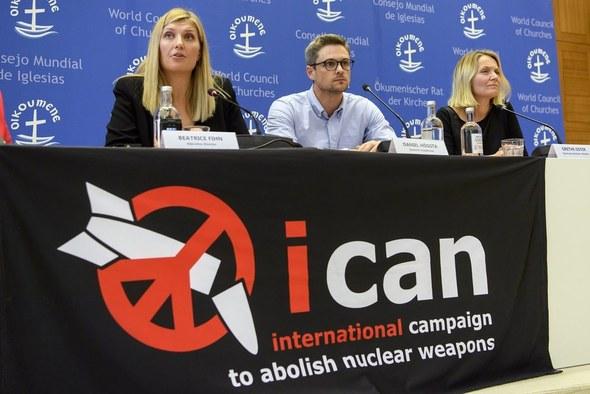 ノーベル平和賞に選ばれたICAN核兵器廃絶国際キャンペーン