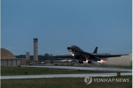【北朝鮮のレーダー】米軍のB1Bが再び夜間に朝鮮半島へ!北の戦闘機は今回も出撃せず!