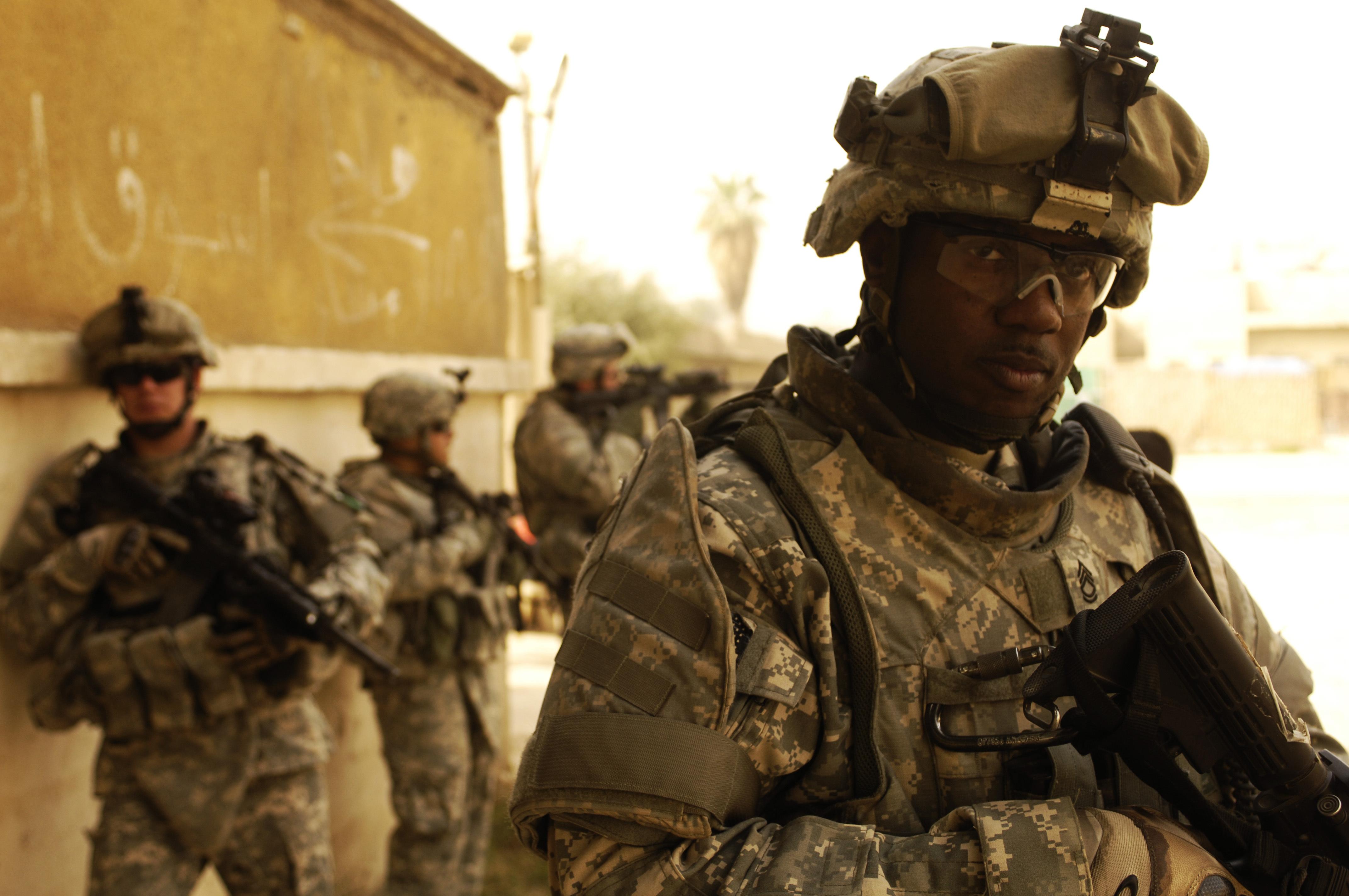アメリカ軍の兵士,米軍