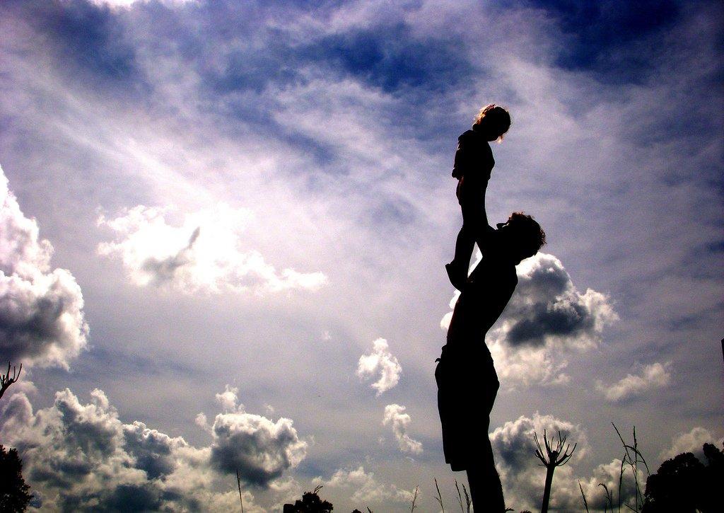父親と娘,パパと息子