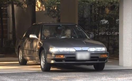 いまなおご愛用される陛下の愛車「インテグラ」3-2