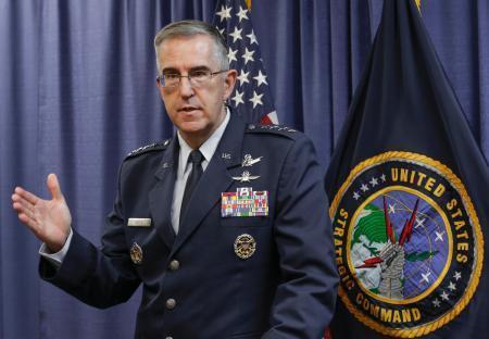 アメリカ合衆国のハイテン米戦略軍司令官
