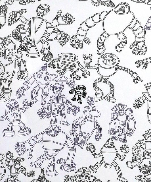 伊藤彬さん自閉症の男性が描くタウンページ表紙9-2