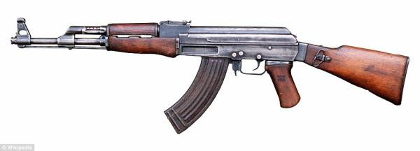 AK47アサルトライフルの画像