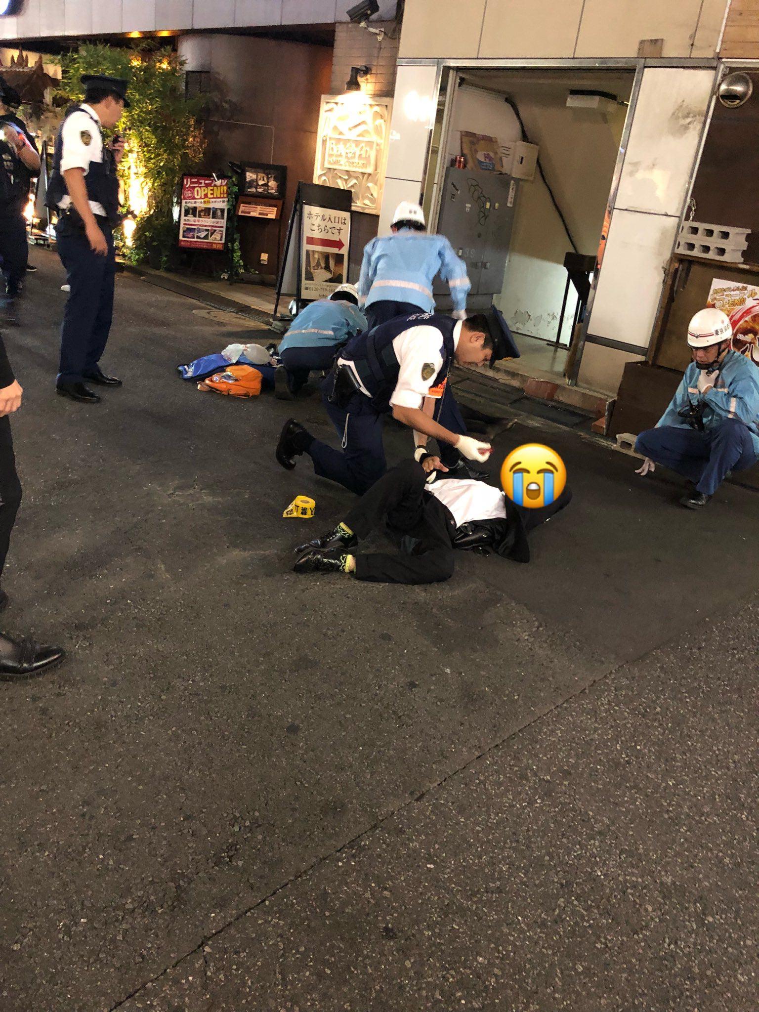 【歌舞伎町】ビル8階から20代の女性が飛び降り死亡、巻き込まれた通行人20代男性けがの画像4-2