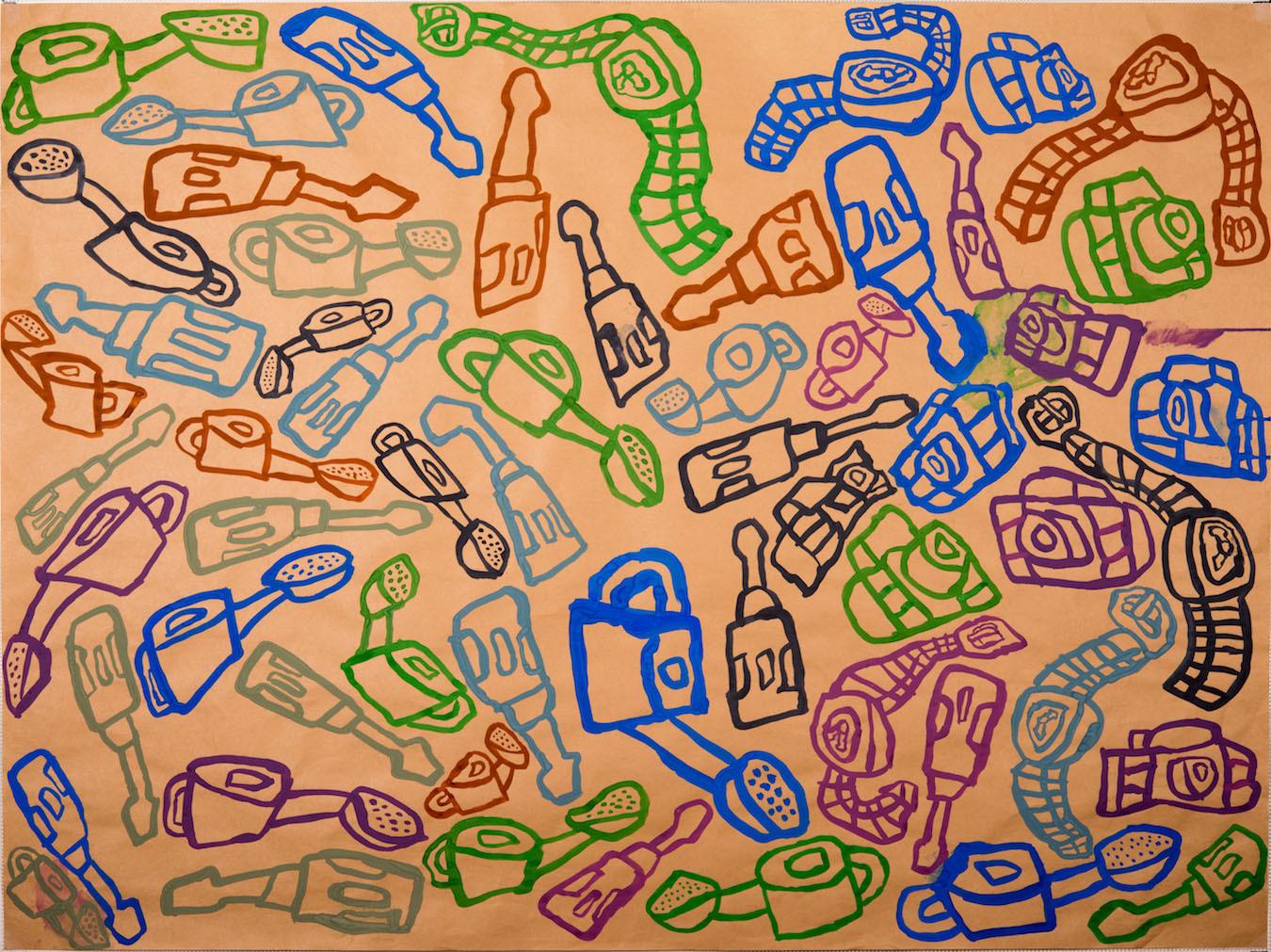 伊藤彬さん自閉症の男性が描くタウンページ表紙9-7