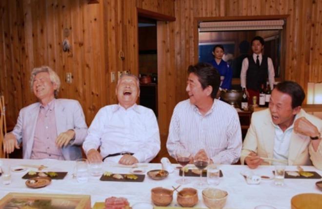 【ステーキ会食】安倍首相「あそこまでよく行ったな」麻生副総理兼財務相、二階幹事長らと会食!