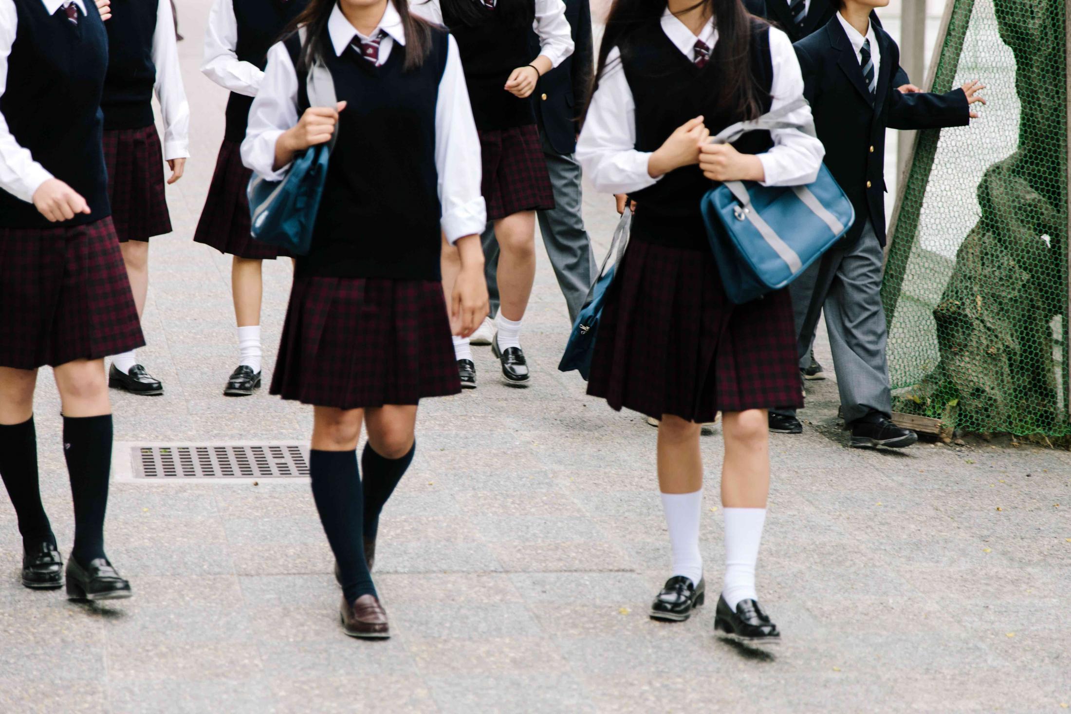 学校のルール,校則,登下校