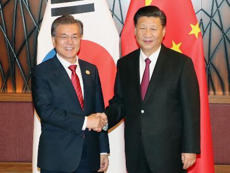 【中国と韓国の首脳会談】米国による北朝鮮への武力行使、一致して反対!