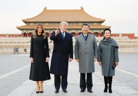 【トランプ氏歓待】習主席「国事訪問より格上」故宮を案内、1兆円商談まとまる!
