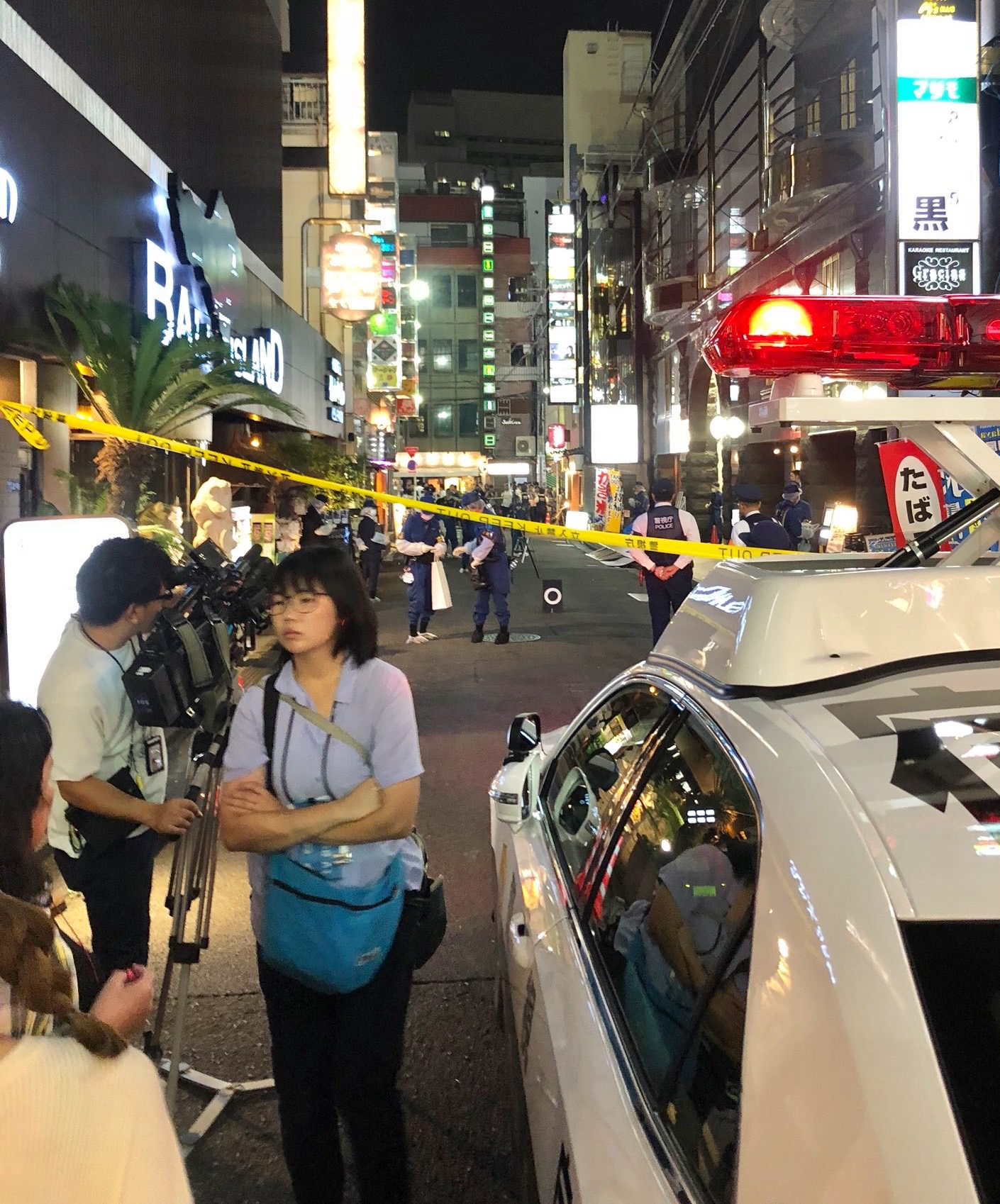 【歌舞伎町】ビル8階から20代の女性が飛び降り死亡、巻き込まれた通行人20代男性けがの画像4-4