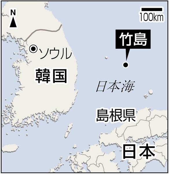 韓国が竹島上陸計画、日本政府が抗議の画像