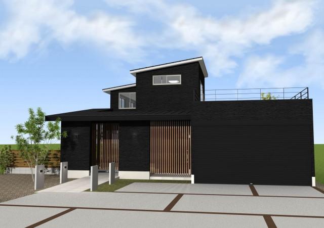 京都 一級建築士事務所 工務店 滋賀県米原市 和風モダン 注文住宅 和モダン