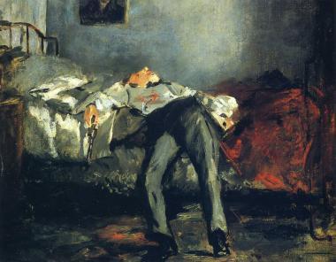 エドゥアール・マネの絵画「自殺」