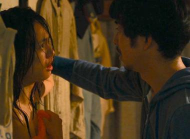 『南瓜とマヨネーズ』 ツチダ(臼田あさ美)は売春がバレて、せいいち(太賀)とぶつかることになってしまう。