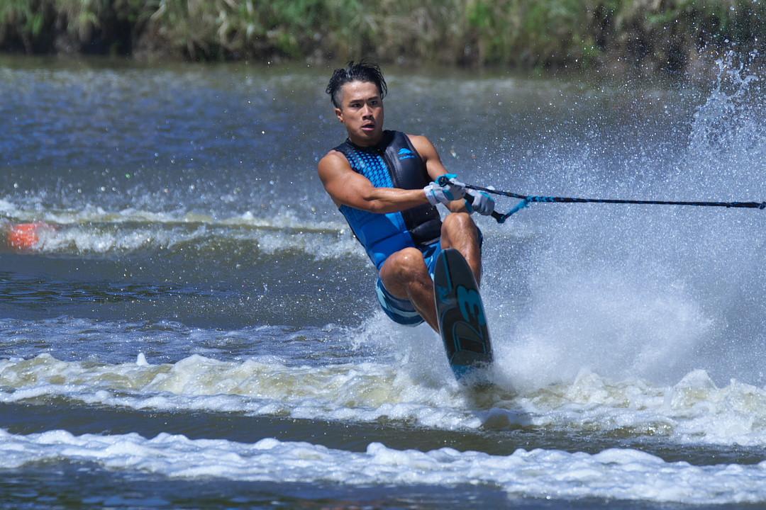 加納寛之選手(學3)2017JCCW M's Slalom