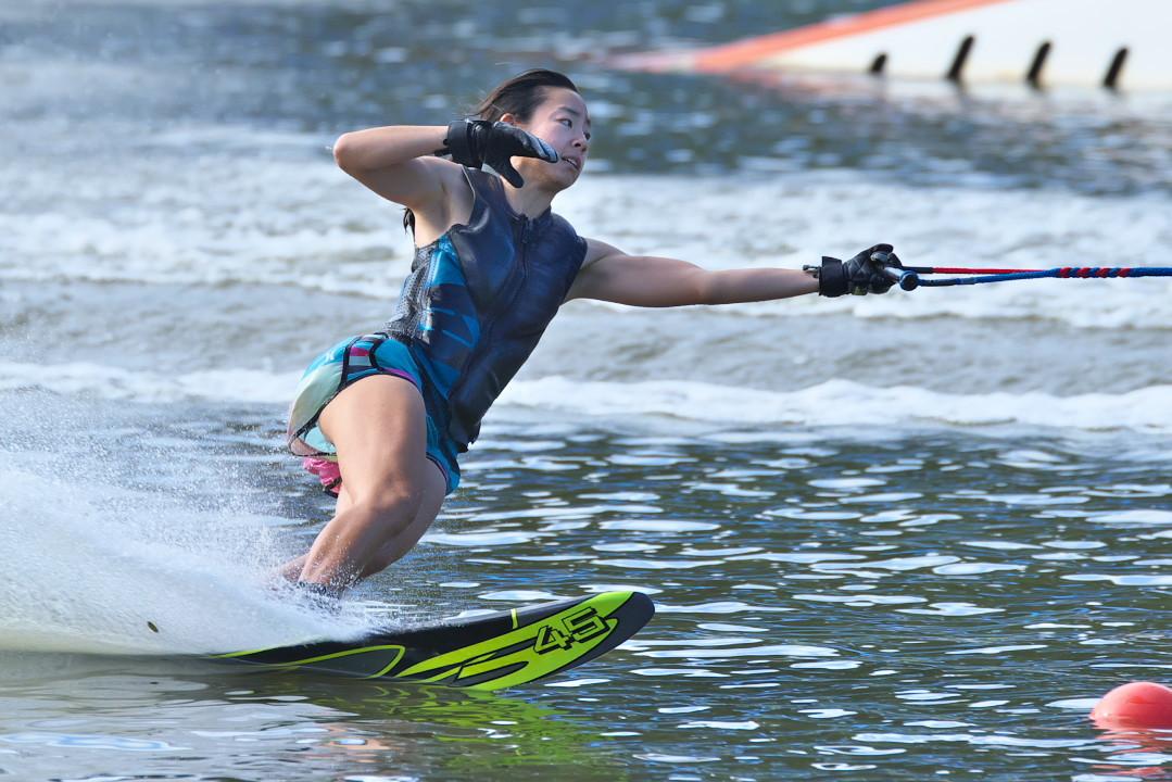 石川莉紗子選手(慶2)2017JCCW W's Slalom