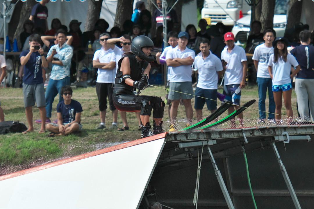 中原莉乃選手(立3)2017JCCW W's Jump
