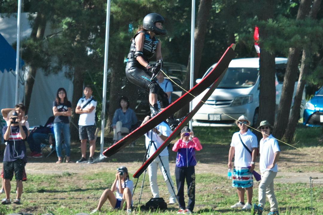 七條莉奈選手(立3)2017JCCW W's Jump
