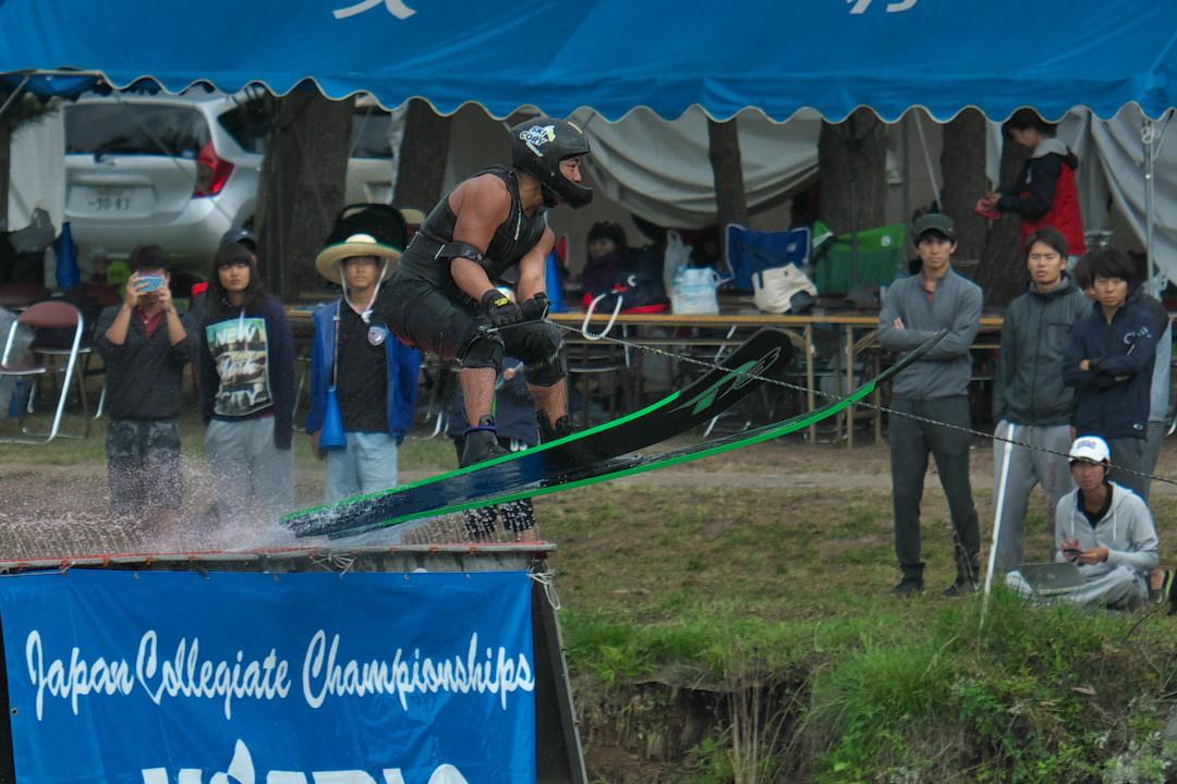加藤功竜選手(學2)2017JCCW M's Jump