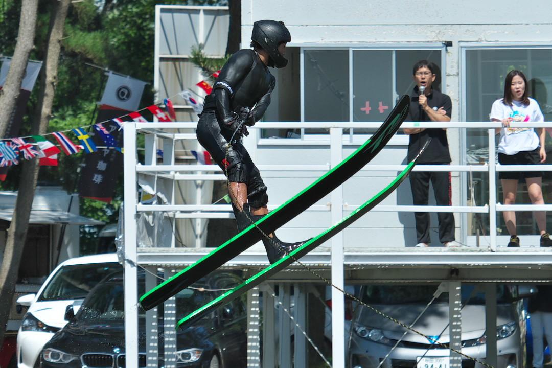 野山隼選手(學3)2017JCCW M's Jump