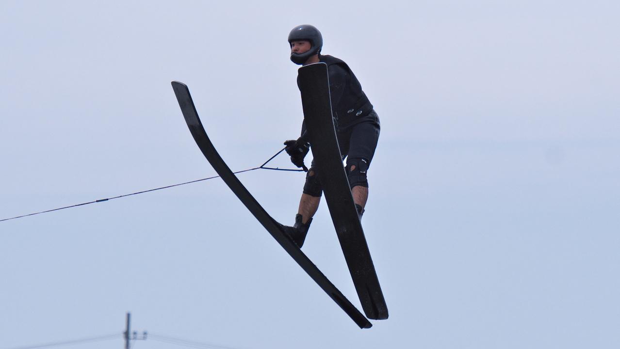 田村陸選手(國4)2016CS2 M's Jump