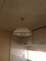 C201キッチン照明ビフォー
