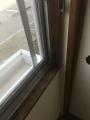 C201和室1窓枠ビフォー