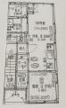 新築アパート1階図面