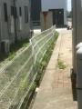 2棟物件強風破損フェンス