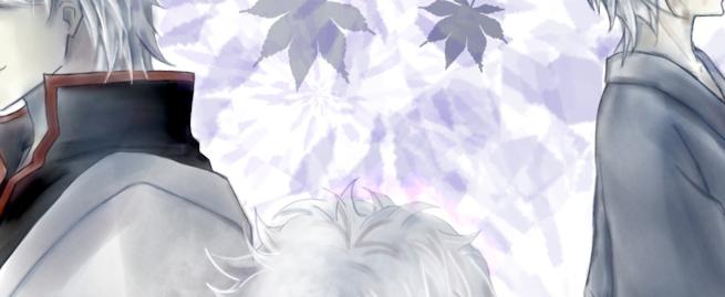 坂田銀時 白夜叉 仔銀 銀魂 カラーイラスト