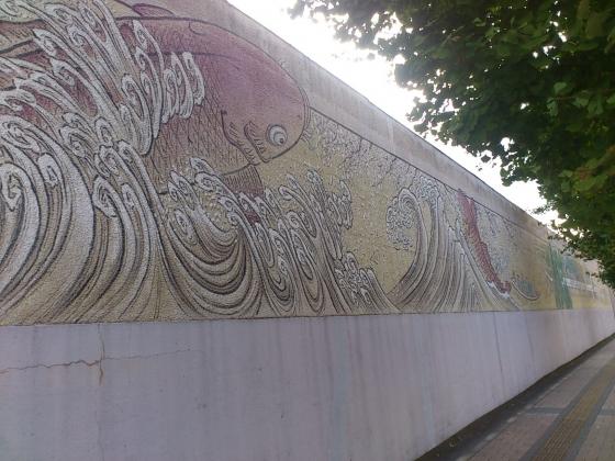 広島拘置所壁画