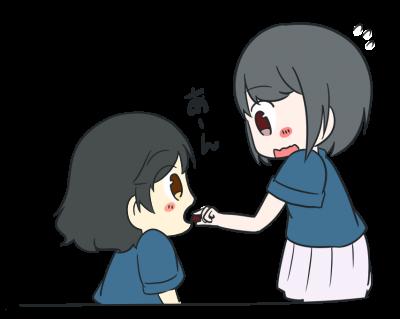 たべさせ凪ちゃん