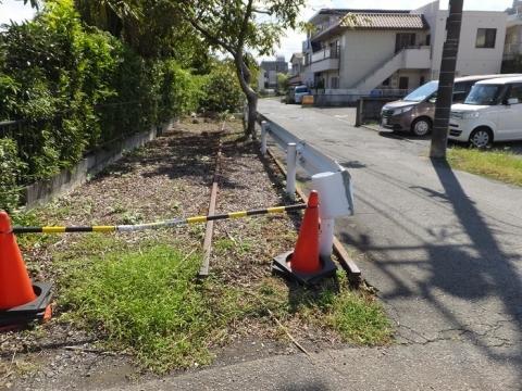 蛇松緑道・千本東町分岐点