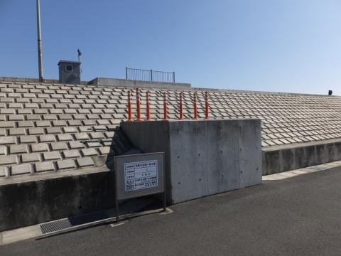 須賀大浜第一排水路