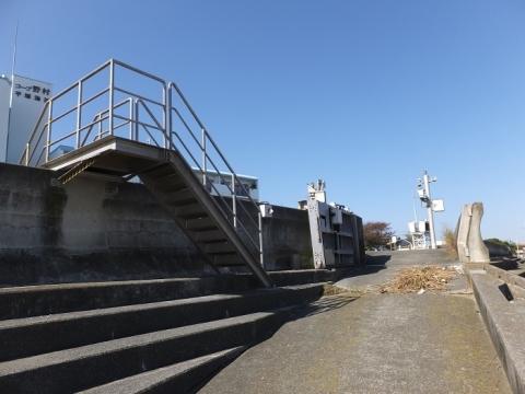 千石河岸防潮ゲート設備(北側陸閘)