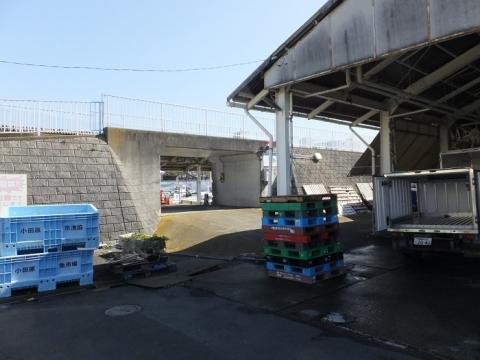 須賀港の陸閘・須賀3号ゲート