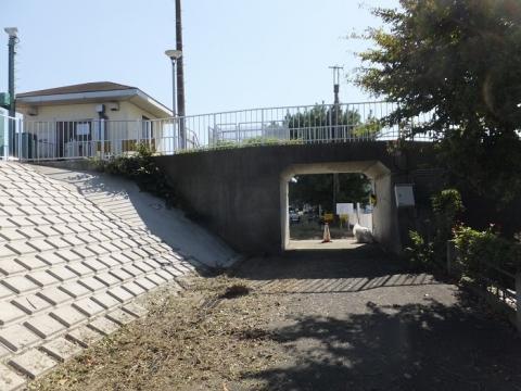 須賀港の陸閘・須賀5号ゲート