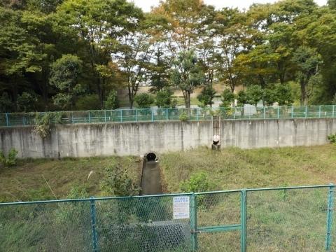 忠生公園の調節池