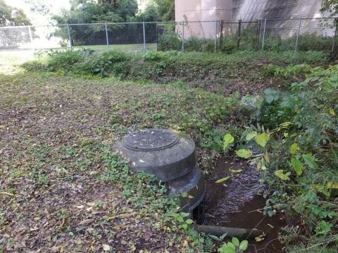 忠生公園・雨水下水マンホール