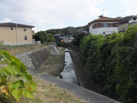 旧鶴見川・鶴見橋下流