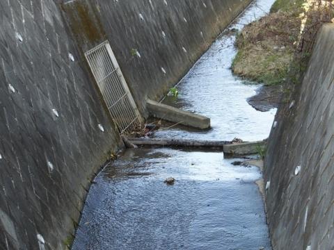鶴見川(小山田川)の分水施設