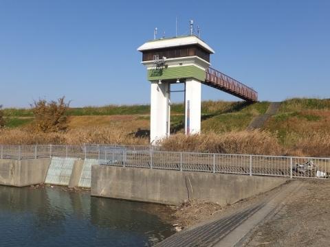 荒川貯水池・取配水樋管