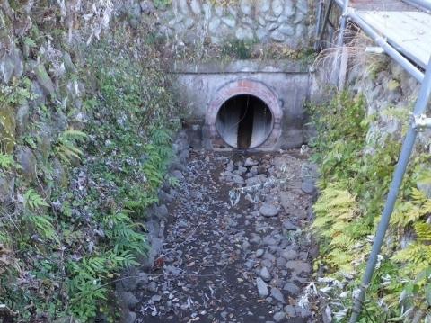 丸山耕地水利組合の用水路施設