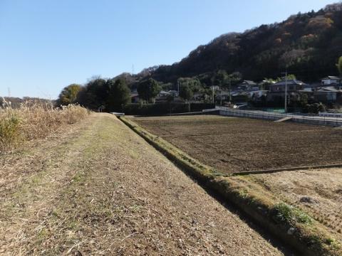 丸山耕地水利組合の用水路