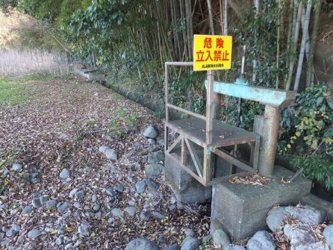 丸山耕地水利組合の用水路排水施設