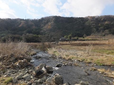 中津川の廃橋・愛川町角田幣山