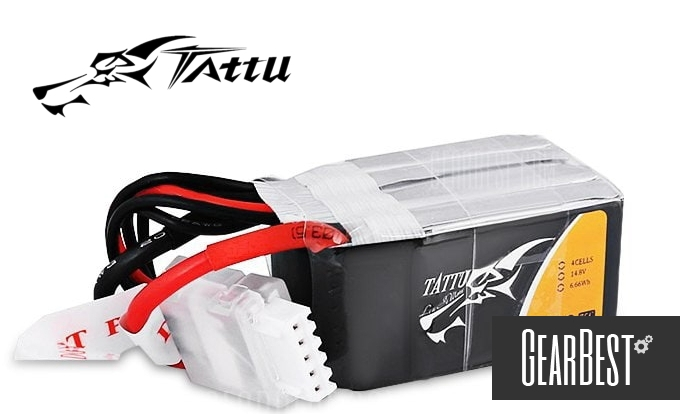 TATTU Battery Gearbest