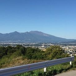 初秋の浅間山